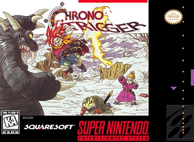 Chrono Trigger Cover Box