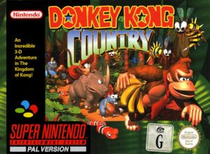Donkey Kong Country box