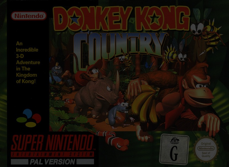 Donkey Kong Country - Super Nintendo (SNES)
