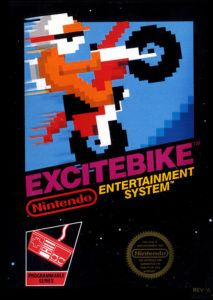 Excitebike Cover Box