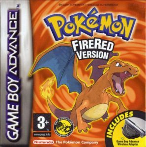 Pokemon FireRed Version Cover Box