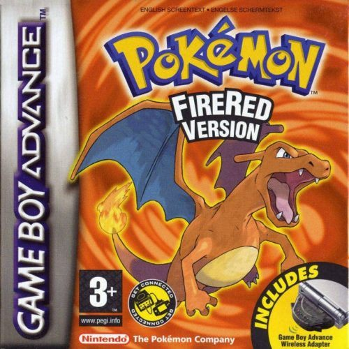 Pokemon FireRed Version Game