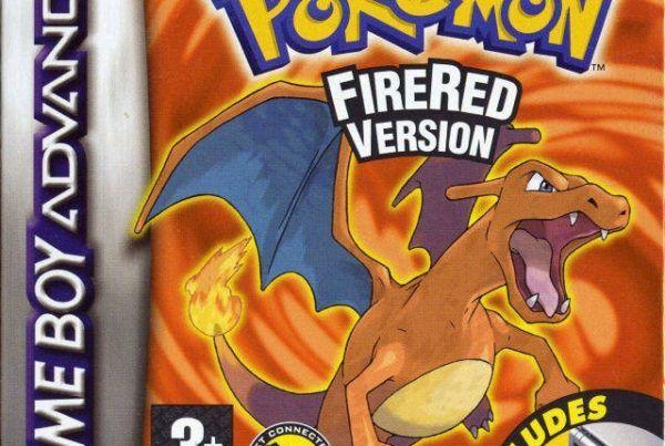 Pokemon FireRed Version box