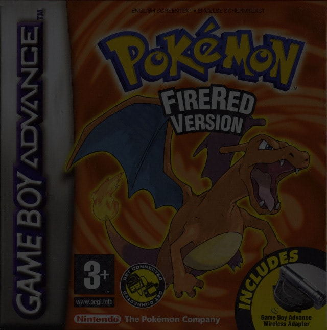 Pokemon FireRed Version - Game Boy (GBA)