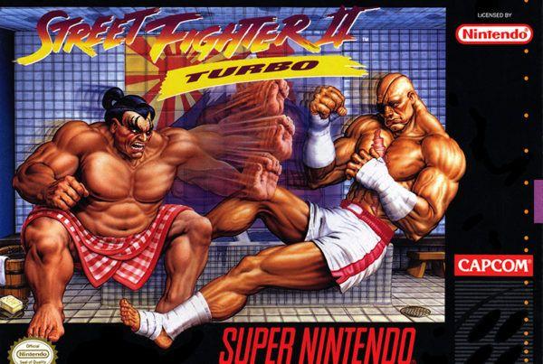 Street Fighter 2 Turbo box