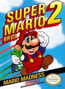 Super Mario Bros. 2 Cover Box