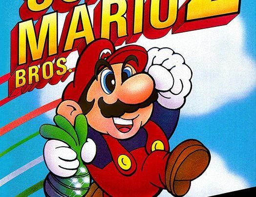 Super Mario Bros. 2 US box