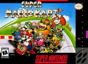 Super Mario Kart Cover Box