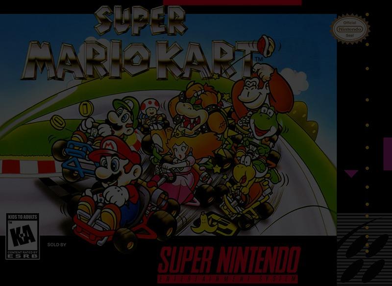 Super Mario Kart - Super Nintendo (SNES)