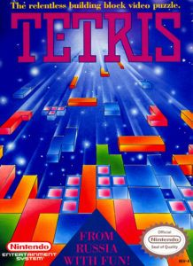 Tetris Cover Box