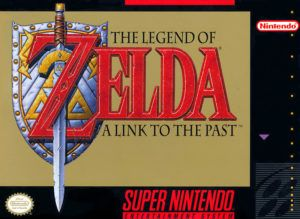 The Legend of Zelda: A Link to the Past Cover Box