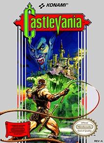 Castlevania US Cover Box