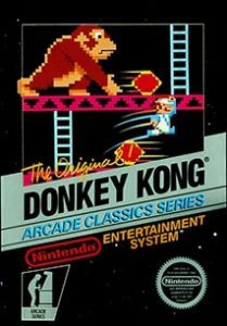 Donkey Kong Cover Box