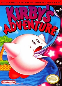 Kirby's Adventure US box