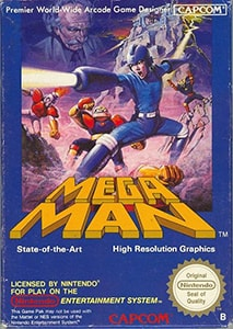 Mega Man Cover Box