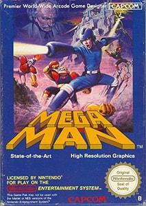 Mega Man Cover Box