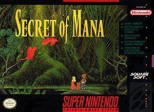 Secret of Mana Cover Box