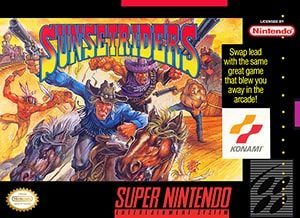 Sunset Riders Cover Box
