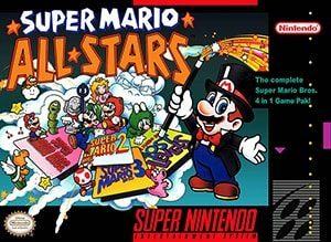 Super Mario All-Stars Cover Box