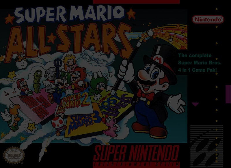 Super Mario All-Stars - Super Nintendo (SNES)