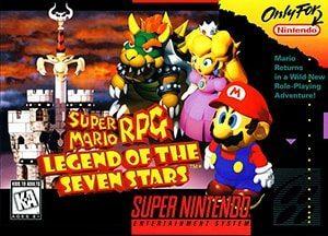 Super Mario RPG Cover Box