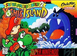 Super Mario World 2: Yoshi's Island Cover Box