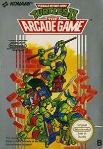 Teenage Mutant Ninja Turtles 2: The Arcade Cover Box