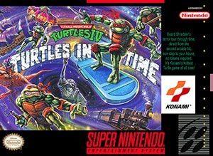 Teenage Mutant Ninja Turtles IV: Turtles in Time US Cover Box