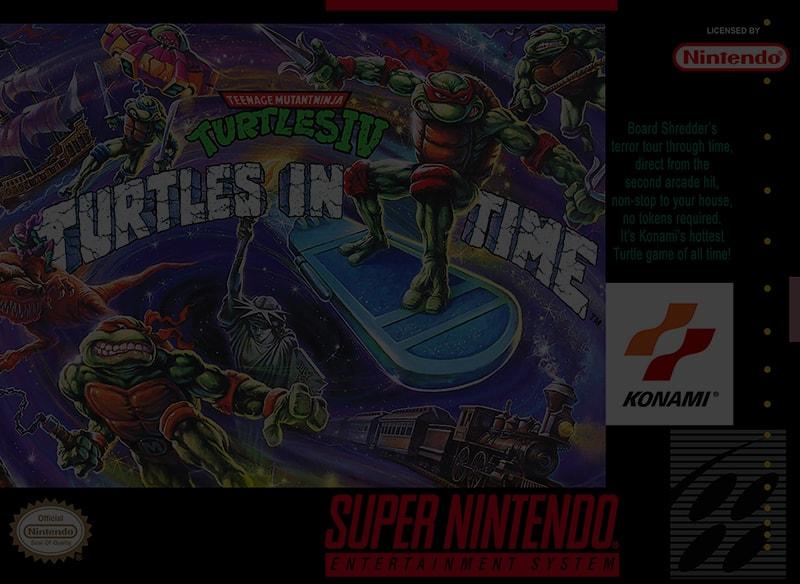 Teenage Mutant Ninja Turtles IV: Turtles in Time - Super Nintendo (SNES)