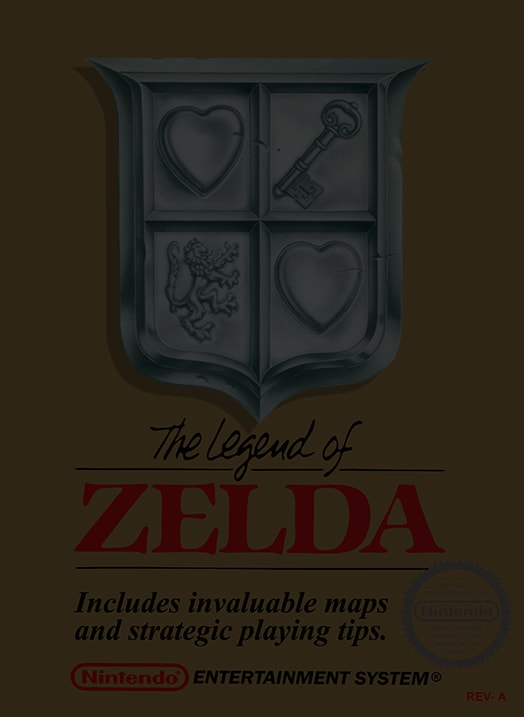 The Legend of Zelda - Nintendo NES