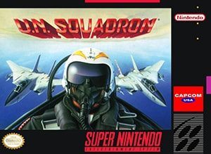 U.N. Squadron (Area 88) Cover Box