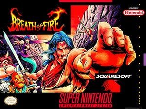 Breath of Fire Cover Box