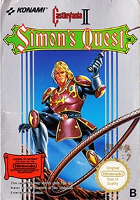Castlevania 2: Simon's Quest cover box