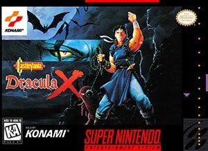 Castlevania: Dracula X Cover Box