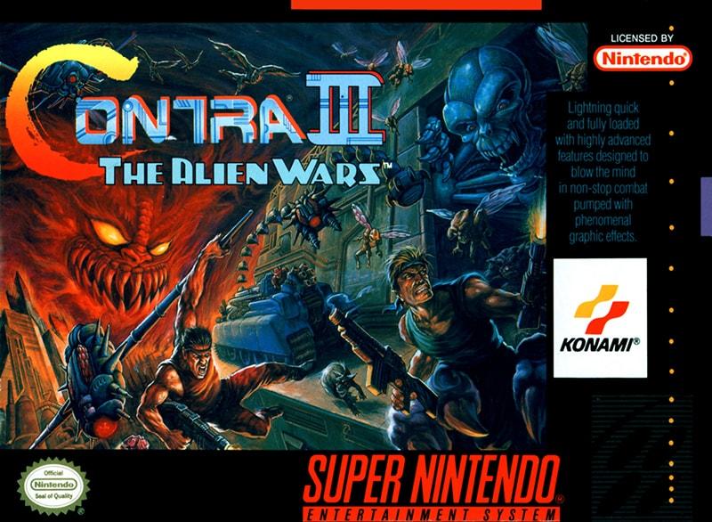 Play Contra 3 The Alien Wars Online Free Snes Super Nintendo