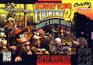 Donkey Kong Country 2: Diddy's Kong Quest Cover Box