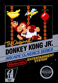 Donkey Kong Jr. cover box