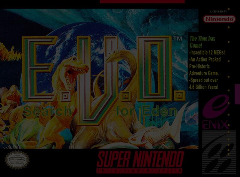 EVO: Search for Eden - SNES Super Nintendo