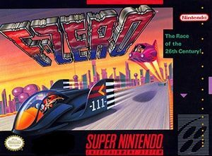F-Zero cover box (US)