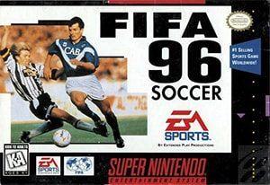FIFA Soccer 96 Cover Box
