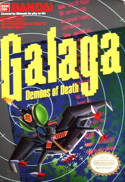 ▷ Play Galaga on Nintendo NES | Emulator Online