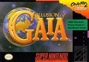 Illusion of Gaia Cover Box