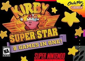 Kirby Super Star Cover Box Super Nintendo