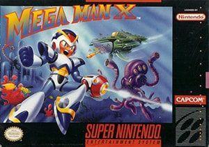 Mega Man X Cover Box