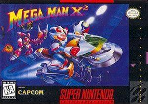 Mega Man X2 Cover Box