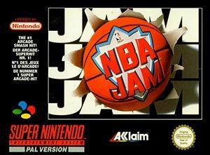 NBA Jam Cover Box