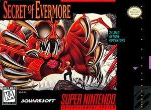 Secret of Evermore Cover Box