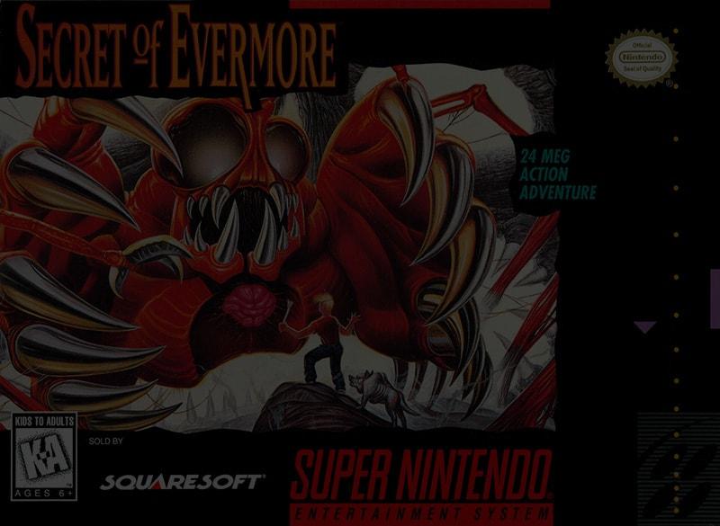 Secret of Evermore - SNES Super Nintendo