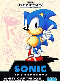Sonic the Hedgehog Cover Box