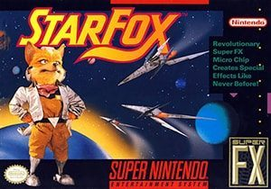 Star Fox Cover Box